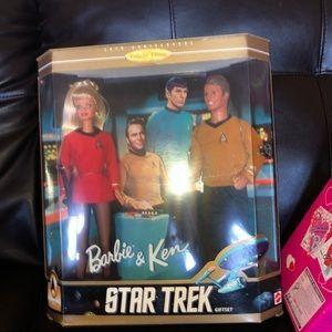 Barbie & ken Star Trek Gift set